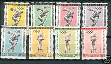 SPORT INTERNATIONAL COOPERATION PARAGUAY 1962 set a
