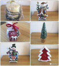 STUNNING CHRISTMAS TEA LIGHT HOLDERS & CANDLES PICK AND CHOOSE