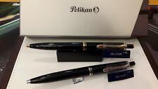 Pelikan Souverän K400 Kugelschreiber schwarz silber / schwarz gold wählbar NEU