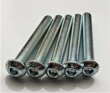 TE-CO 60303 M8-1.25 x 80 mm Black Oxide Steel Double End Threaded Studs 2 pk.