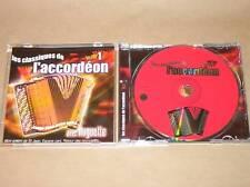 CD / CLASSIQUES DE L'ACCORDEON  / VOL1 / ETAT PARFAIT