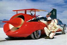 1964 Art Arfons & The Green Monster Jet Car - Photo Poster
