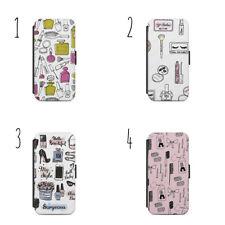 PROFUMO Trucco Pattern WALLET FLIP CUSTODIA COVER IPhone Samsung