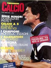 Nuovo Calcio 62 1997 Montella Inzaghi - Poster Javier Zanetti e Torricelli