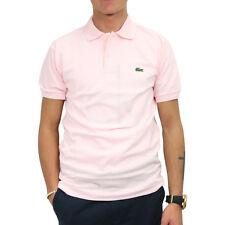 2e28298e3cffdb Lacoste L.12.12 Original Polo Poloshirt Polohemd Herren Rosa Flamingo L1212  T03