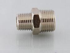 Bsp Male to Male Bsp Nipple Adapter ,Bsp Adaptors Connecting Nipple Brass Nickel