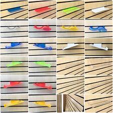 Acryl Slatwall Regal Lamelle Board Display Regal/Regale Mehrere Größe und Farbe