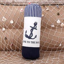45cm Long Mediterranean Style Sea Anchor Cushion Home Sofa Bedroom Throw Pillow