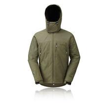 Montane Extreme Homme Vert Résistant À L'Eau Haut Coupe-Vent Zip Veste Manteau