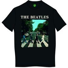 The Beatles' Abbey Road & Logo 'T-Shirt - Nuovo e Originale