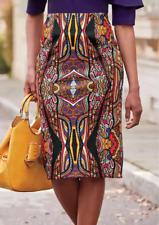 Ashro Seripina High-Waist Pencil Skirt Size 2X 3X PLUS