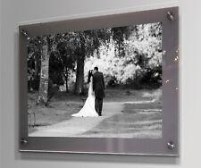 Acrylic wall picture photo frame 8x10,10x12,10x20,16x20,16x24,20x20,20x24 20x30