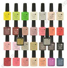 CND Shellac UV Nail Polish Choose ANY New Colour,  Top Coat or Base Coat