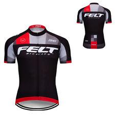 Road Cycling Sports Bike Mens Jerseys Bicycle Tops Outfits Shirt Long Zipper New