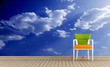 3D cielo blu 234 Parete Murale Foto Carta da parati immagine sfondo muro stampa