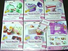 Crafters Companion cupcake presentation box template single twin four six & CD