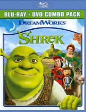 Shrek (Two-Disc Blu-ray / DVD Combo) New DVD! Ships Fast!