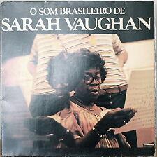O SOM BRASILEIRO DE SARAH VAUGHAN-1978LP BRAZILIAN IMPORT MILTON NASCIMENTO
