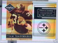 2007 LEAF LIMITED TREAM TRADEMARK FRANCO HARRIS 18/25