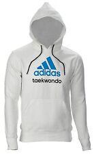 adidas Community line Hoody TKD weiß/blau Taekwondo Tae-Kwon-Do Hoodie