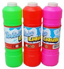 Pre Misto bolla soluzione liquida ricarica per pistola a bolle lava bottiglia 1L / 2L
