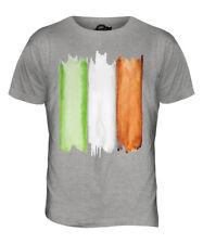 IRELAND FLAG WATERCOLOUR MENS FASHION PRINT T-SHIRT IRISH EIRE FOOTBALL RUGBY