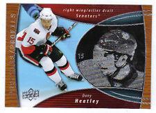 08-09 UD McDonalds Canada Dany Heatley Profiles Insert #PR04 Mint