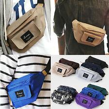Korea Waist Fanny Pack Cross Shoulder Bag STREET Hip Sack Hipsack Polyester NEW