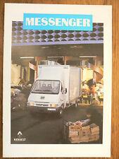 Catalogue  Camion  RENAULT   MESSENGER        RVI       1994         Prospectus