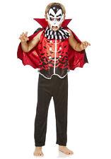 DRACULA COSTUME Boys Girls Unisex FANCY DRESS UP COSTUME Cape Mask Waistcoat