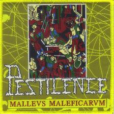 PESTILENCE-MALLEUS MALEFICARUM- WOVEN PATCH-super rare