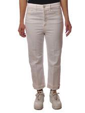 Dondup - Jeans-Pantaloni gamba dritta - Donna - Bianco - 5163611D183920