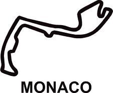 X2 MONACO GRAND PRIX circuito corsa profilo Vinile Decalcomanie Adesivi Grafiche