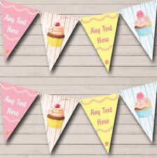 Pastel Cupcake Cake Baking Childrens Party Banner