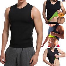 Men Women Neoprene Slim Shirt Body Fat Burner Shaper Waist Trainer Tank Top Vest