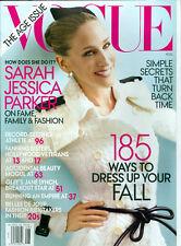 Vogue 2011 Sarah Jessica Parker Raquel Zimmermann Karlie Kloss Dakota Fanning