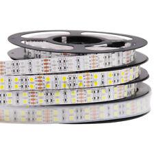 12V 24V RGB Led Strip Streifen SMD 5050 5m Double Row 600 led Wasserdicht Weiß