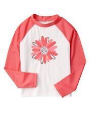 NWT Gymboree Kitty in Pink Daisy Rash Guard Top 5 6 10 12 Swim shop Girls
