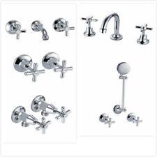 Lisa Tapware Range - Basin, Bath, Washing Machine, Shower and Wall Taps Sets