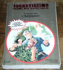 SEGRETISSIMO HUNT L'INGANNO Numero speciale Spionaggio Ediz. MONDADORI 1983