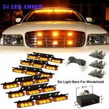 54 LED Car Strobe Flash Warning Hazard Front Bars Light  For Car Truck ATV