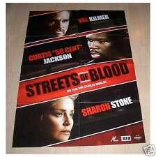 Filmposter A1 Neu Streets of Blood - Val Kilmer 50 Cent