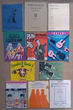 Musica e libretti per Clarinetto & fagotto, chitarra, arpa & Registratore