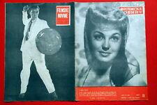 ESTHER WILLIAMS COVER ALEC GUINNESS 1952 EXYU MAGAZINE