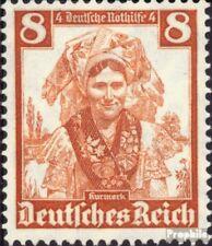 Deutsches Reich 592 postfrisch 1935 Volkstrachten