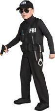 FBI Agenten Weste Kinderkostüm NEU - Mädchen Karneval Fasching Verkleidung Kostü