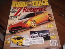 Road & Track March 1999 Nissan's Reborn Z-Car