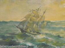 peinture marine étude