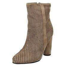 SPOT ON f50699 da donna, COLOR CARNE MICROFIBRA caviglia altezza stivali