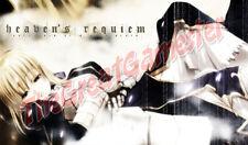 """Anime Girl """"Heaven's Requiem"""" Custom Playmat / Game Mat / Mat #7"""